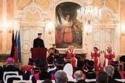 Universität Olmütz verlieh Prof. Dr. Heinrich Pompey das Ehrendoktorat