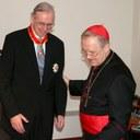 Prof. Pompey erhält Päpstlichen Gregoriusorden durch Kardinal Cordes
