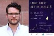 """Video zum Nachschauen: """"Mehr schlecht als Recht?"""" – Christoph Koller sprach bei der Langen Nacht der Universität"""