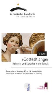 """Freiburger Kirchenmusikalische Tagung """"GottesKlänge"""""""